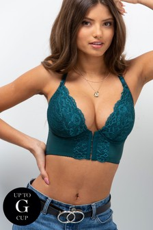 Pour Moi Opulence Front Fastening Underwired Bralette E+