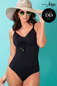 Pour Moi Sol Beach Underwired Rope Swimsuit