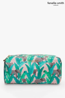 Fenella Smith Elephant Vegan Leather Box Washbag