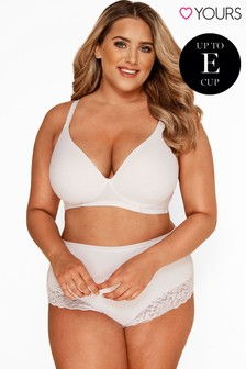 Yours Curve Non-Wired T-Shirt Bra E+