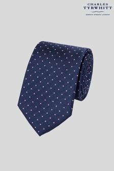 Charles Tyrwhitt Classic Stain Resistant Textured Spot Tie