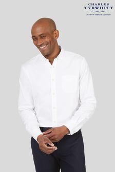 Charles Tyrwhitt Slim Fit Button-Down Washed Oxford Shirt