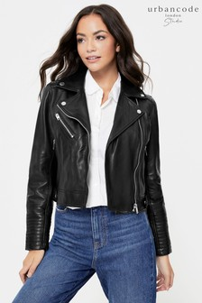 Urban Code Leather Biker Jacket