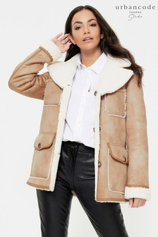 Urban Code Studio Shearling Reversible Coat
