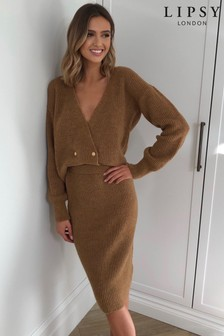 Lipsy Double Breasted Co-ord Cardigan