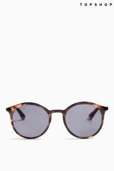 Topshop Lucinda Rounds Sunglasses