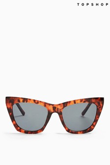 Topshop Zara Cat Eye Sunglasses