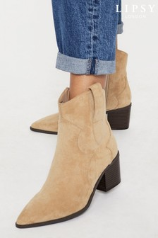 Lipsy Lipsy Western Low Boot