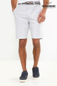 Threadbare Belted Oxford Short