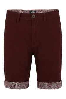 Threadbare Turn Up Chino Short