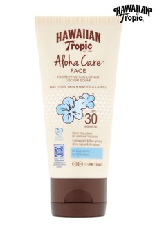 Hawaiian Tropic Aloha Care Protective Sun Lotion Face SPF 30 90ml