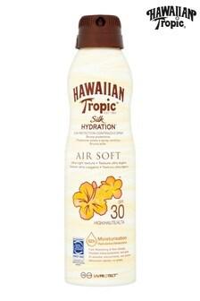 Hawaiian Tropic Silk Hydration Sun Protection Continuous Spray Air Soft SPF 30 177ml