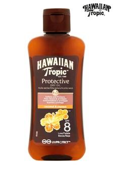 Hawaiian Tropic Protective Dry Oil Coconut & Papaya SPF 8 100ml