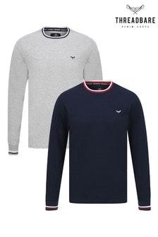 Threadbare Long Sleeve T-Shirt Pack of 2