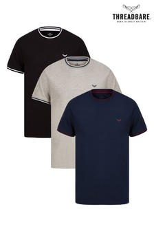 Threadbare Multi 3 Pack T-Shirt