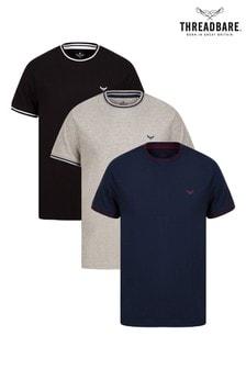 Threadbare Multi 3 Pack T-Shirt
