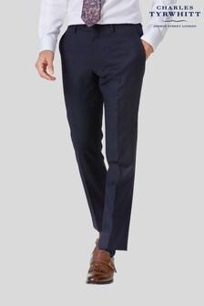 Charles Tyrwhitt Slim Fit Twill Business Suit Trouser