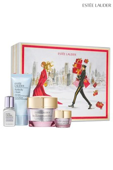 Estée Lauder Lift + Glow Skincare Collection Gift Set (Worth £117.00)