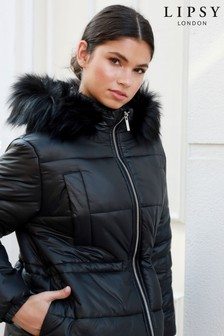 Lipsy Waisted Padded Jacket