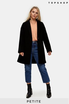 Topshop Petite Jenny Crombie Coat