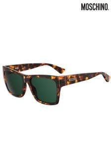 Moschino Tortoiseshell Cateye Sunglasses