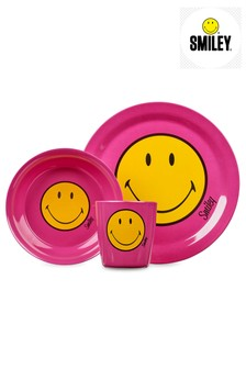 Smiley Kids Dinnerware 3 Piece