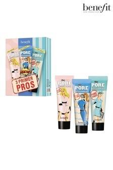 Benefit 3 Primer Pros Mattify, Brighten & Hydrate Porefessional Face Primer Trio (Worth £36)
