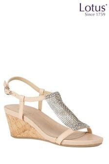 Lotus Footwear Wedge Open-Toe Sandals
