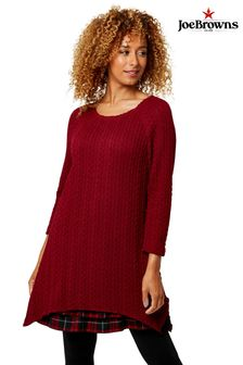 Joe Browns Check Hem Tunic