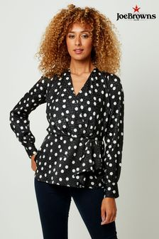 Joe Browns Pretty Polka Dot Blouse