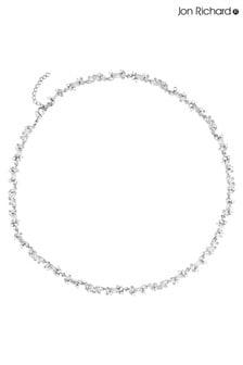 Jon Richard Rhodium Plated Crystal Fine Cubic Zirconia Necklace
