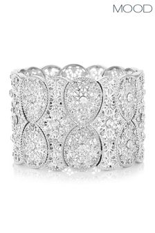 Mood Filigree Statement Stretch Bracelet