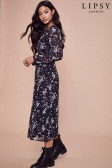 Lipsy Printed Midi Dress
