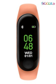 Tikkers Kids Activity Tracker Watch With Coloured Strap