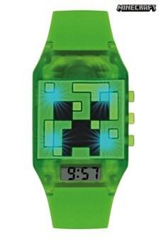 Minecraft Unisex Kid's Digital Analog Quartz Watch