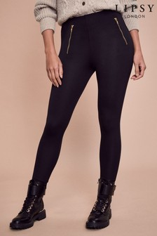 Lipsy Zip High Waist Legging