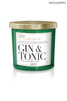 Baylis & Harding The Fuzzy Duck Cocktails Gin and Tonic 2 Wick Candle