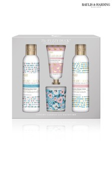 Baylis & Harding The Fuzzy Duck Cotswold Floral Candle Set
