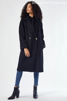 Dorothy Perkins Boyfriend Premium Wool Coat