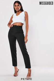 Missguided Petite Co-Ord Belted Cigarette Trousers