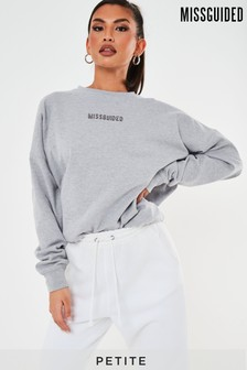 Missguided Petite Missguided Branded Sweat