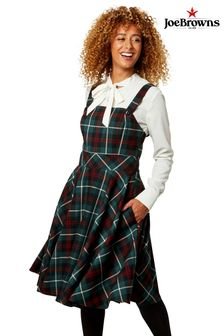 Joe Browns Check Pinafore Dress