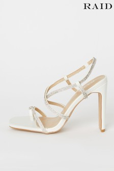 Raid Bridal Diamante Heeled Sandal