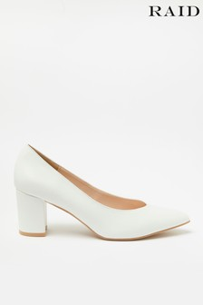 Raid Block Heel Court Shoe