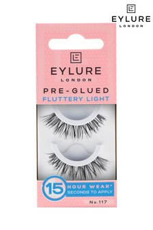 Eylure Pre-glued Fluttery Light No.117 False Lashes
