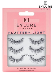 Eylure Fluttery Light No. 117 Multipack False Lashes