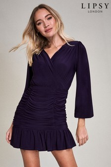 Lipsy Ruched Mini Dress