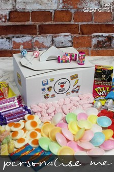 Personalised Retro Sweet Tuck Box By Great Gifts