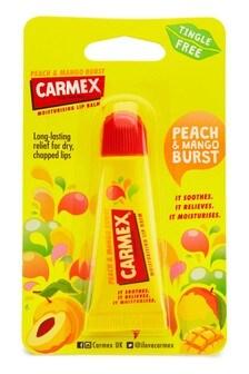 Carmex Peach & Mango Lip Balm Tube