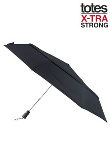 Totes X-Tra Strong Auto Open/Close Ratchet Umbrella